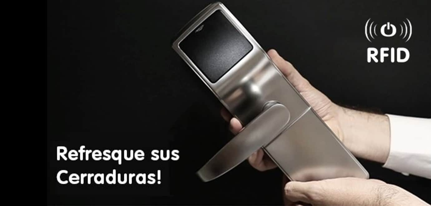 Renueve sus cerraduras con tecnología RFID de Onity