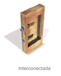 Proyeccion interconectada  de la cerradura electronica Onity Trillium