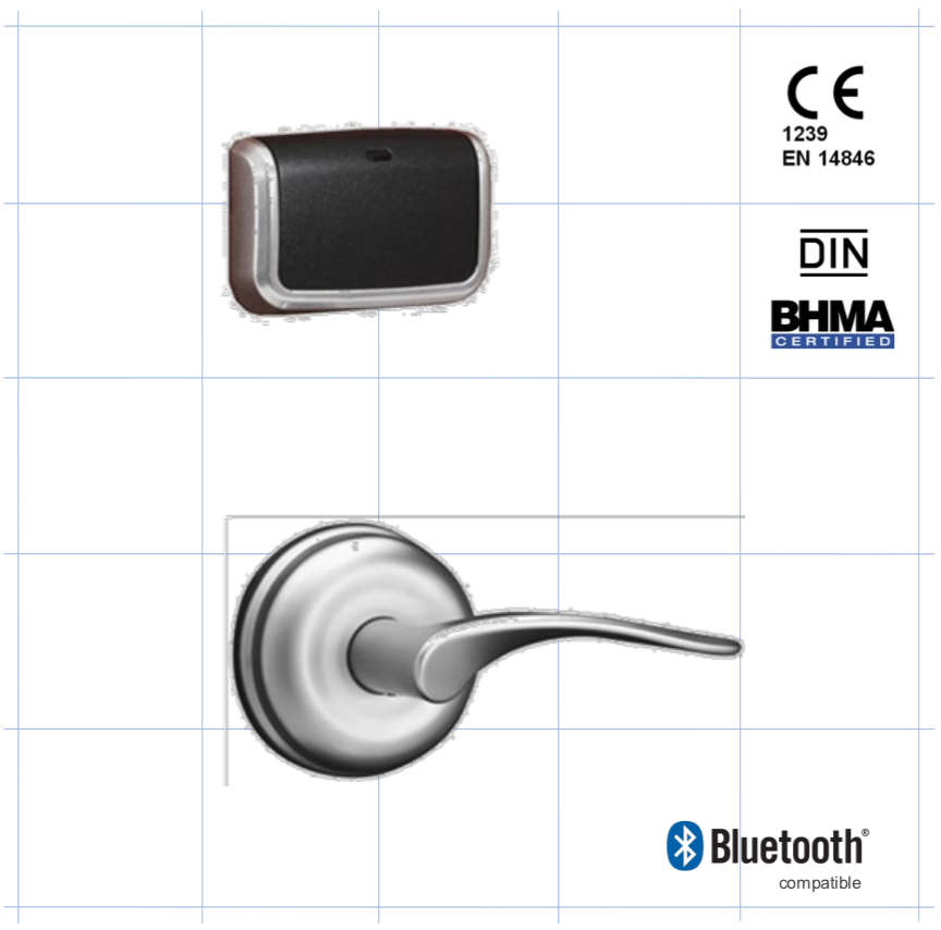Cerradura electrónica Onity Trillium Advance RFID